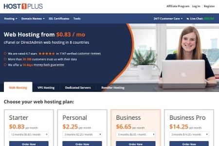 Host1plus美国虚拟主机、VPS主机2016年2月最新优惠码