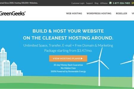 greengeeks虚拟主机3.4折促销,并且送免费域名一个(com/net/org/info/biz任选注册一个)