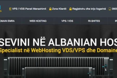 AlbaHost 欧洲vps主机 Xen 1核 512M 10G 无限流量 100Mbps 阿尔巴尼亚 €5/mo
