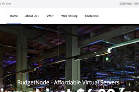 美国vps推荐 -budgetnode 1核 512m内存 20g硬盘 500g流量 洛杉矶 $12/年