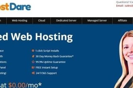 HostDare – 黑色星期五 特价vps年付方案 1G内存方案年付17.5美元