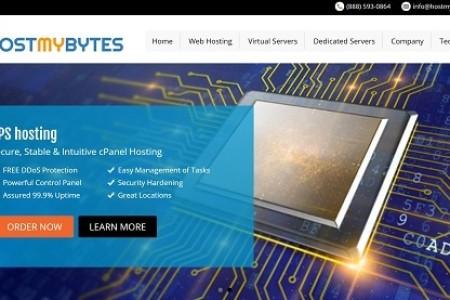 hostmybytes-洛杉矶vps主机 KVM系列 512内存 年付20美元