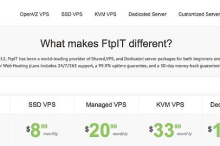 ftpit 便宜洛杉矶VPS主机 OVZ SSD硬盘 月付2美元