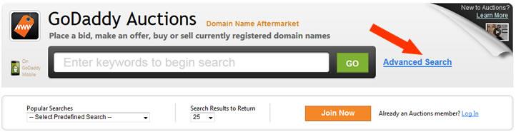 【分享】在GODADDY AUCTIONS平台上购买10年以上的老域名