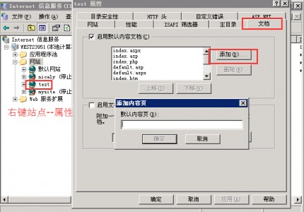 新搭建的网站访问出现Directory Listing Denied 是什么原因?