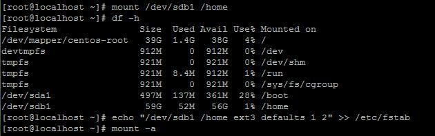景安快云vps主机 Linux系统 VPS如何挂载硬盘