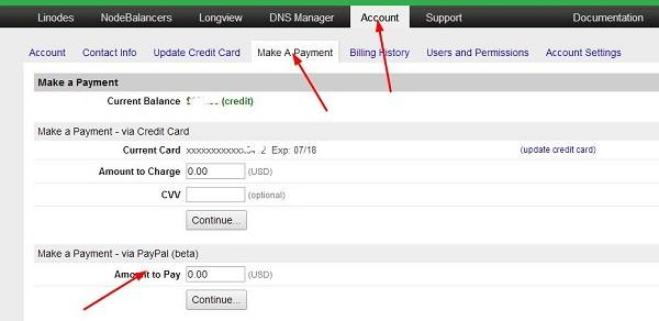 linode 美国vps支持paypal支付