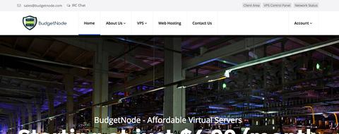 budgetnode便宜美国vps服务器 256m内存 洛杉矶 /年