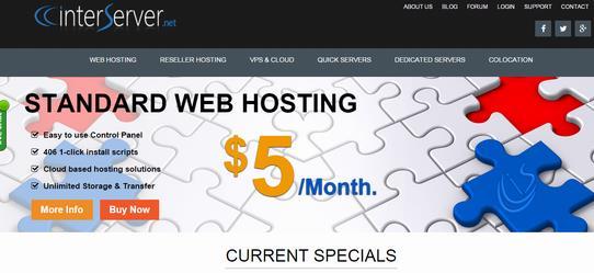 InterServer -美国vps服务器 OpenVZ 1GB内存 洛杉矶&新泽西 /月