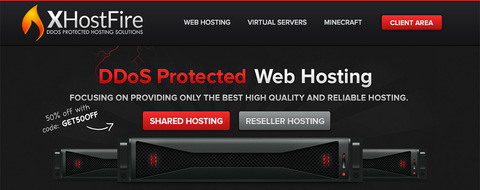 XHostFire 韩国vps服务器优惠码- KVM 384MB内存 SSD硬盘 1Gbps /mo