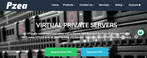 PZEA -黑五 香港vps/新加坡vps主机年付5折优惠码