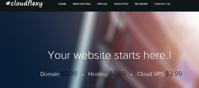 cloudflexy优惠码-香港VPS/新加坡vps主机 KVM架构 支持Windows